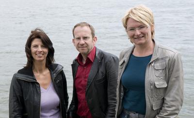 v.l.n.r.: Iris Westermeier, Peter Susewind und Nicole Monz