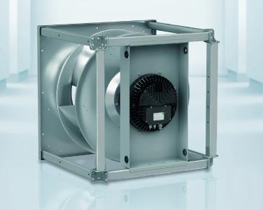 Die bewährten RadiPac Radialventilatoren sind nun auch als praxisgerechte Würfelkonstruktion verfügbar