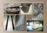 "Candidates nominated for ""The Wood and Natural Fibre Composite Award 2015"""