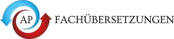 Logo des Nürnberger Übersetzung- und Dolmetscherdienstes AP Fachübersetzungen
