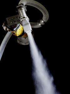 Im Vergleich zu konventionellen Kesselsystemen gewährleistet die Dampferzeugung im Durchlauf, dass der Dampf in gleichbleibender Menge und Qualität sowie mit konstanten Eigenschaften für die Reinigung zur Verfügung steht.