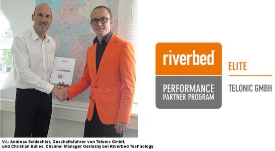 Telonic erreicht Elite Level Status im Rahmen des Riverbed Performance Partnerprogramms