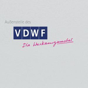 Das Schild der VDWF-Außenstelle
