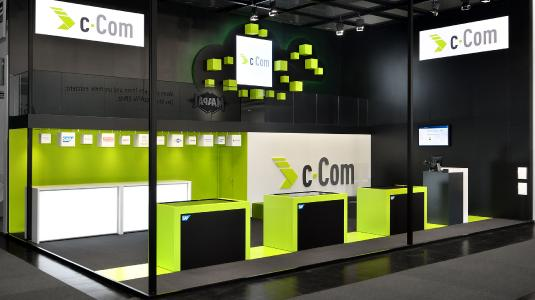 c-Com auf der EMO 2017, Konzeption: KECK
