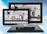 Widescreen Monitor für industrielle Anwendungen