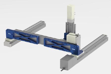Maßgeschneidert für jede Anwendung: Die Handling-Portale von SMC Deutschland lassen sich frei im Baukastenprinzip zusammenstellen und erfüllen anspruchsvolle Anforderungen etwa in der Montageautomation, in Mess- und Prüfanwendungen oder im Labor