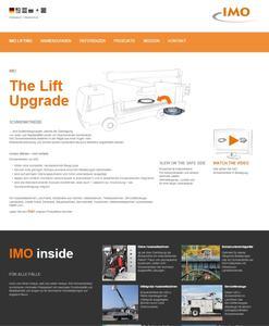 IMO mit speziellem Anwenderfokus für Hubarbeitsbühnenhersteller