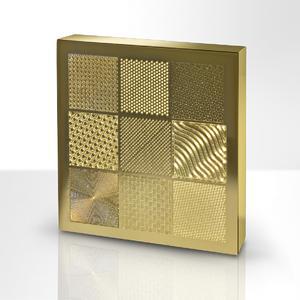 Anwendung FOBA Y-Serie: Oberflächenstrukturierung auf Metall |  Application FOBA Y-Series: surface structuring on metal