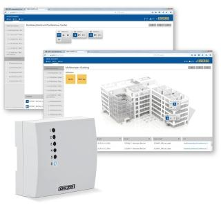 Intelligent building control with BACnet (Photo: GEZE GmbH)