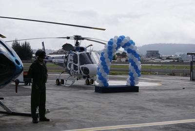 Eurocopter de México Delivers a Second AS350 B2 to the Quito Aerial Police Service