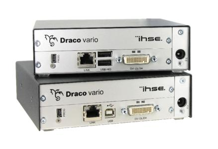 IHSE announces the release of new high-resolution video extenders for Dual-Head and Dual Link applications
