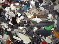Inputfraktion: Kunststoffe aus Elektronikschrott