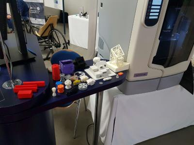 3D-Druck-Beispiele aus Plastik und Metall
