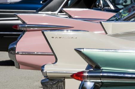 Cadillacs beim European Elvis Festival