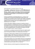[PDF] Pressemitteilung: Cryptalloy: wirksamer Schutz vor RFID-Missbrauch