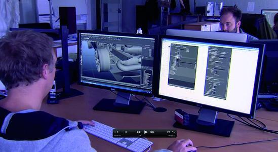 """Interaktive 3D Umgebungen entwickeln, Filmsequenzen erstellen, Software programmieren, Grafiken kreieren, und, und, und. Für jeden Bereich gibt es Spezialisten im Team der Abteilung """"Imagineering by LK-AG"""""""