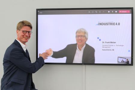 Plattform Industrie 4.0: Frank Possel-Dölken übernimmt Vorsitz des Lenkungskreises