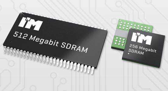 I´M Intelligent Memory´s new 256 and 512 Megabit SDRAM for industrial applications