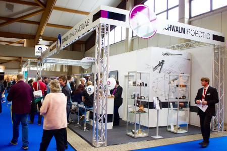 In Halle H10/Stand CO1 können Sie ein Date mit der Schwalm Robotic GmbH haben