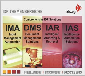 Das IDP-Lösungsportfolio deckt die gesamte Wertschöpfungskette beliebiger Dokumente ab und schließt mit IAS den Zugang zu hochkarätigen weltweiten Informationsquellen ein