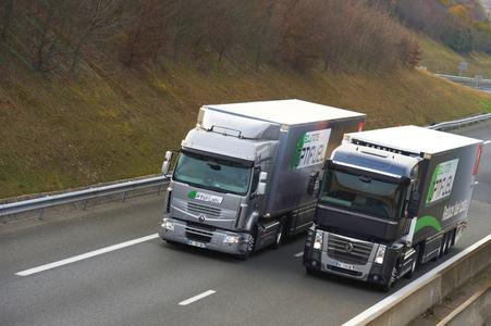 Das Optifuel Programm von Renault Trucks umfasst die Fahrzeugdatenanalyse mit Optifuel Infomax und die professionelle Fahrerschulung