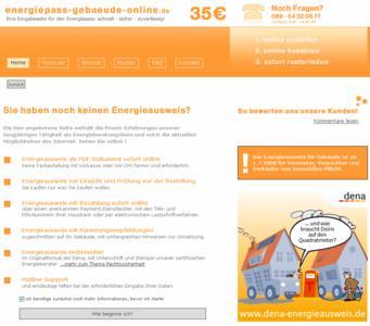 Energiepass-Gebaeude-Online.de Startseite