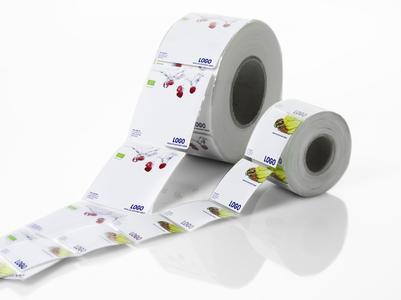 Labeling Green-Etiketten schonen die Druckeinheiten und reduzieren den Wartungsaufwand.
