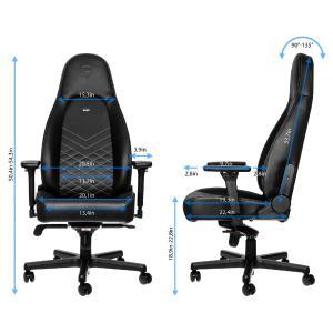 Exklusive Premiere bei Caseking: noblechairs präsentiert die ICON Gaming-Stuhl-Serie - entwickelt für höchste Ansprüche an Design und Optik