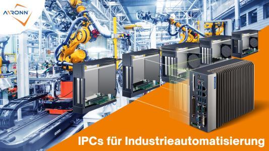 Industrie PCs für die Automatisierung in der Industrie