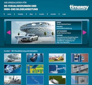 TimeRay.de präsentiert sich nach Relaunch mit neuer 3D Visualisierung