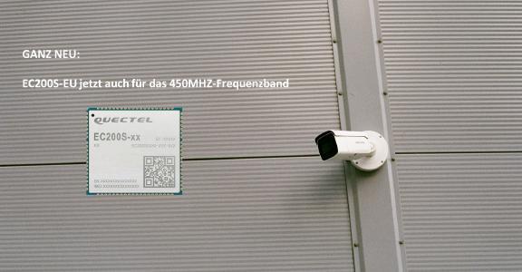 Cat 1 Funkmodul EC200S-EU 450 für Applikationen im 450MHz-Frequenzband
