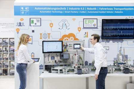 Lucas-Nülle Smart Factory Training Solution