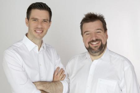 Geschäftsführer der Good Profits GmbH Sebastian Grothaus und Dirk Stiller