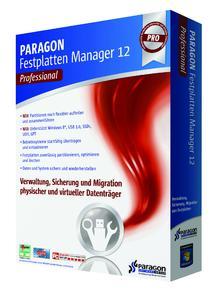 Der Profi rund um Partition und Festplatte: Festplatten Manager 12 Professional