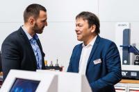 Ivica Pavlinušić (SARTORIUS) und Michael Auer (HURCO) haben große Pläne für die SARTORIUS-Academy