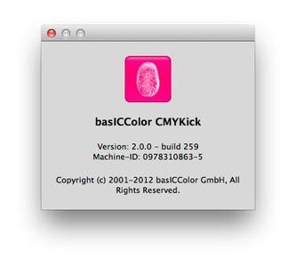 basICColor CMYKick 2.0