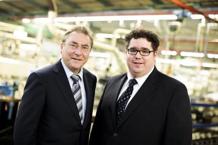 Dr. Karl-Heinz Schiefer und sein Sohn Pascal Schiefer (v.l.)