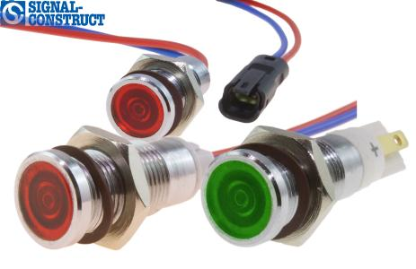The new LED indicator series SMCP10 from Signal-Construct.