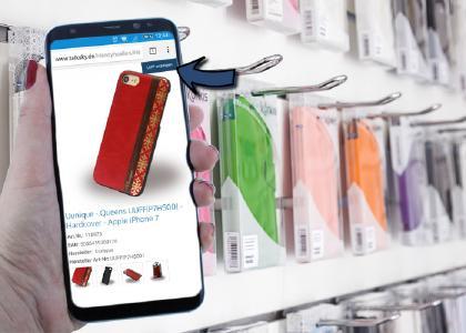Mobilfunk Handel mit Business-to-Business Onlineshops