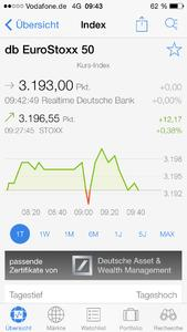 Finanzen100 iPhone App