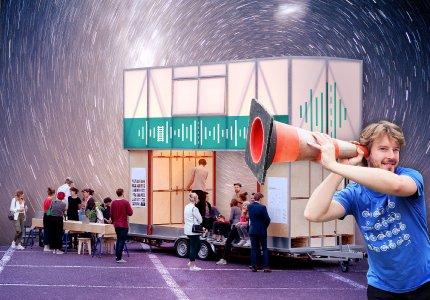 Europäische Mobilitätswoche: Wie klingt die Mobilität der Zukunft? / Bild: Julian Martritz / Collage Indentitätsstiftung GmbH