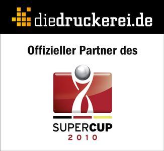 Onlineprinters GmbH sponsert Supercup (Copyright (C) DFL)
