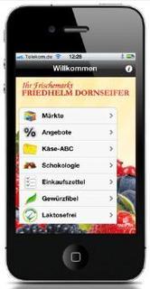 Die Friedhelm Dornseifer App/Ausgewählte App Bausteine
