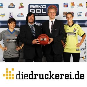 Walter Meyer, CEO of Onlineprinters GmbH, and Jan Pommer, CEO of Beko BBL