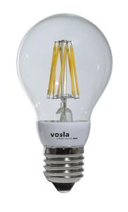Die aneinandergereihten Leuchtdioden ähneln dem Glühfaden der traditionellen Glühbirne / Bildnachweis: Werksfoto vosla