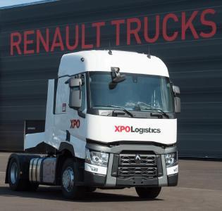 xpo logistics investiert mehr als 100 millionen euro in lkw von renault trucks volvo group. Black Bedroom Furniture Sets. Home Design Ideas