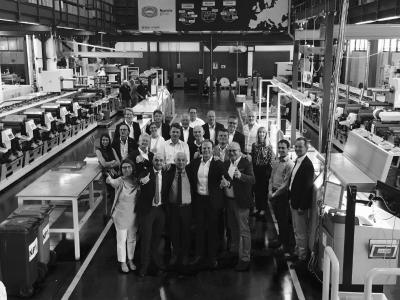 Zusammenschluss von All4Labels - Global Packaging Group und Nuceria Group