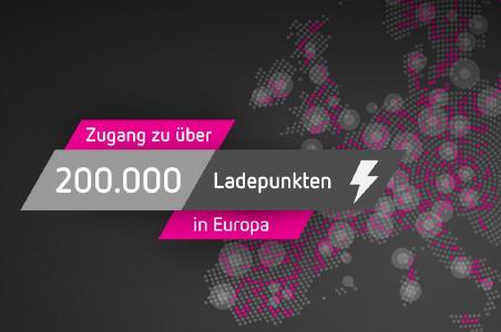 Zugang zu 200.000 Ladepunkten im Roaming-Netzwerk der has·to·be gmbh.