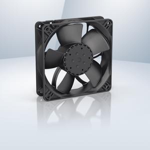Effizienter Motor und ausgefeilte Aerodynamik, der 4300 N bietet hohe Förderleistung bei geringem Betriebsgeräusch und hoher Effizienz (ebm-papst)