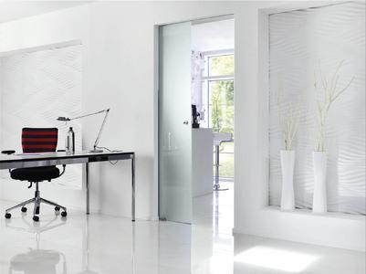 The sliding door system Rollan 40 and 80 NT: proven fitting with new details (Photo: GEZE GmbH)